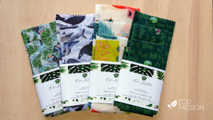 Eco Solutions: Reusable Soya Wax Wraps