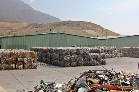 Urbaser recycling plant, Casares, Spain