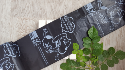 Biodegradable dog poo bags Eco Passion