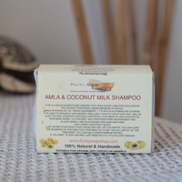 solid shampoo amla and coconut milk