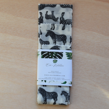 Reusable food wraps, soya wax, pack of 3 sizes