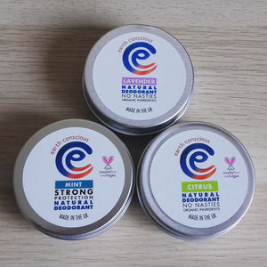 Natural deodorant, 60g tin - Lavender