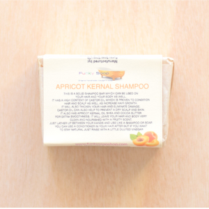 Apricot Kernal Solid Shampoo (120g bar)