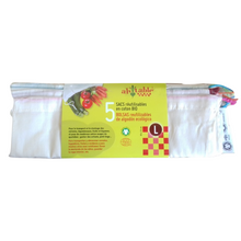 Organic cotton reusable bags for fruit & veg (pack of 5)