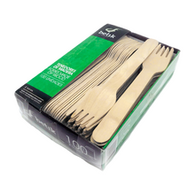 eco passion bioegradable disposable wooden forks