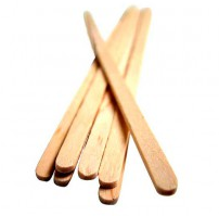 Wooden stirrers for coffee, 14cm (1000)