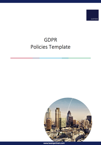 GDPR Policies Template