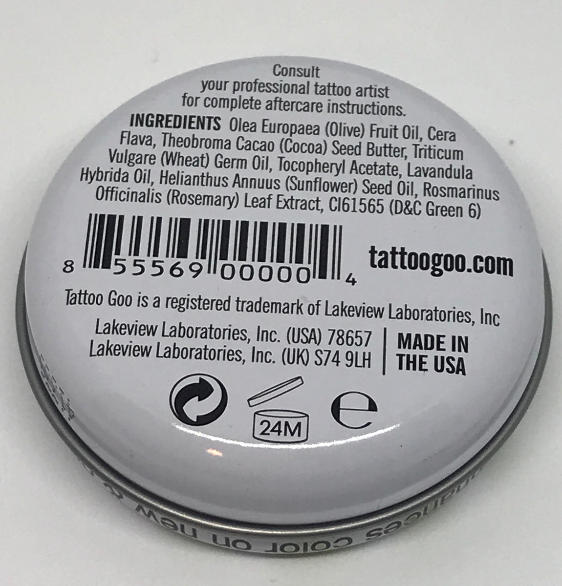 Tattoo Goo Salve The Natural Choice For Healing Inkpierce Lotion Aftercare