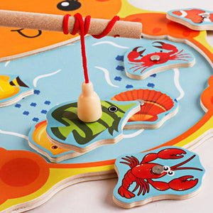 Magnetic Fishing Games and Puzzles