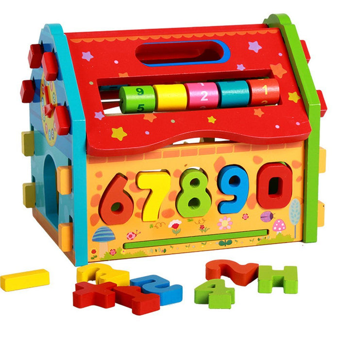 Baby Shape Numbers Sorting House