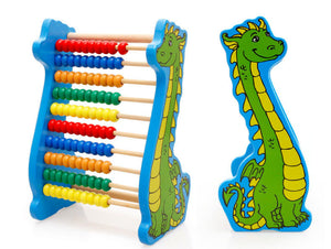 Dinosaur Abacus - Montessori Toy Box
