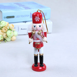 Wooden Nutcracker Soldier Christmas Decoration