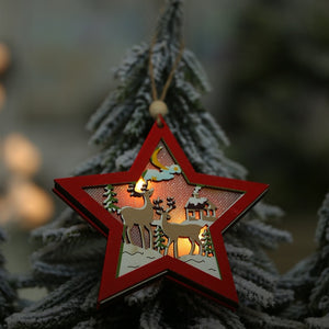 Creative Led Light Christmas Tree Ornaments