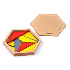 Montessori Constructive Triangles (5 Boxes) - Montessori Toy Box