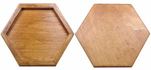 Wooden Geometric Jigsaw Puzzle - Montessori Toy Box