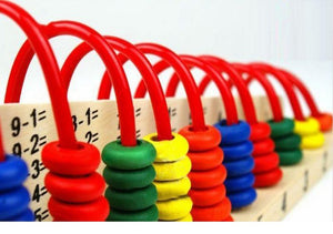Spiral Beads Maths Abacus - Montessori Toy Box