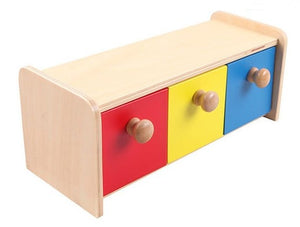Montessori Colorful Drawer Box - Montessori Toy Box