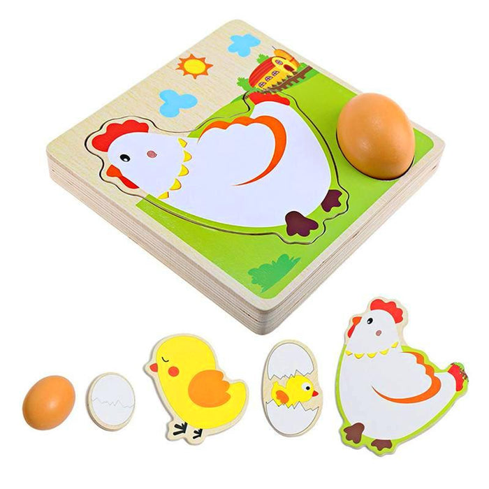 Egg to Chicken 3D Puzzle