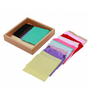 Montessori Sensory Fabric Box - Montessori Toy Box
