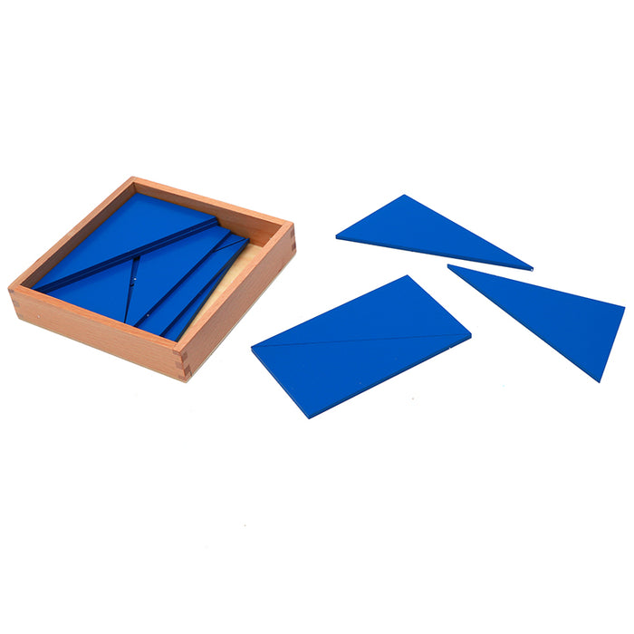 Blue Triangle Learn Fractions Learn Shapes