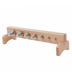 Montessori Bolts and Nuts Learn Construction - Montessori Toy Box
