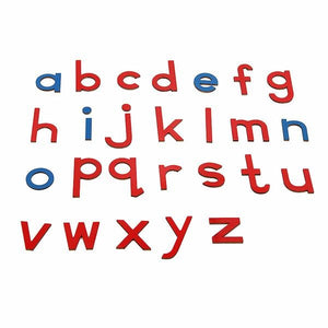 Let's Learn English Letters (5 Lots with 130 Pcs) - Montessori Toy Box