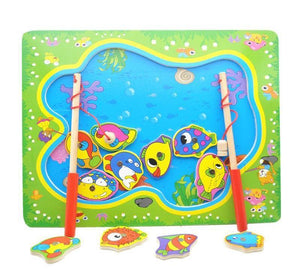 Magnetic Fishing Game Board (3 Varieties) - Montessori Toy Box