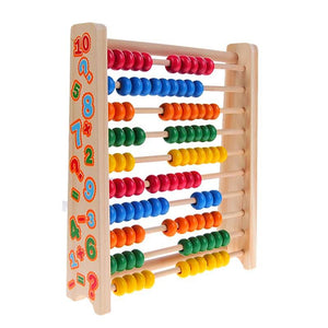 Colorful Numbers 100 Beads Abacus - Montessori Toy Box
