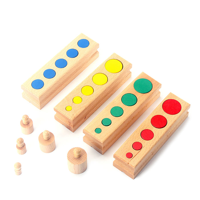Colorful Socket and Cylinder Intellectual Development Toy