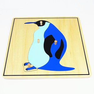 Montessori Penguin Puzzle - Montessori Toy Box