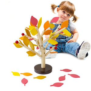 Montessori Wooden Tree Puzzle - Montessori Toy Box