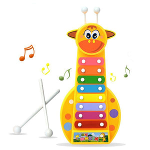 Giraffe Multicolor Xylophone - Montessori Toy Box