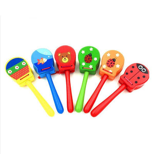 FREE!! Wood Clapper Musical Instrument (1 Pcs) - Montessori Toy Box