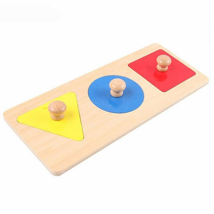 Montessori Learning Shapes - Triangle Circle Square