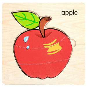 FREE!! Lovely Fruit and Vegetable Puzzles - Montessori Toy Box
