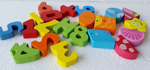 Toddler Numbers and Shapes Sorting Ocean House - Montessori Toy Box