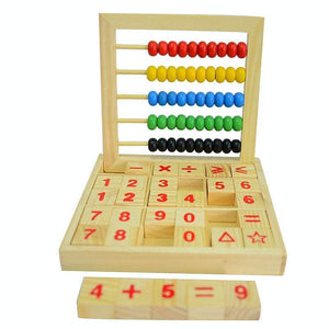 Abacus Maths Activity Center - Montessori Toy Box