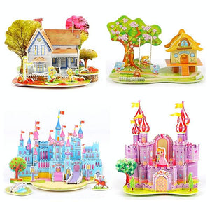FREE!! Magical Castles and Houses 3D Puzzles - Montessori Toy Box