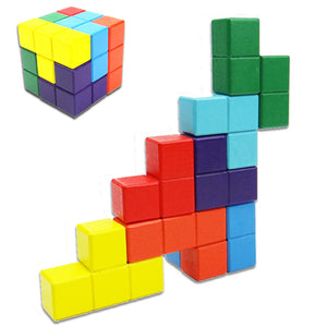FREE!! Magic Cube Multicolor 3D Puzzle - Montessori Toy Box