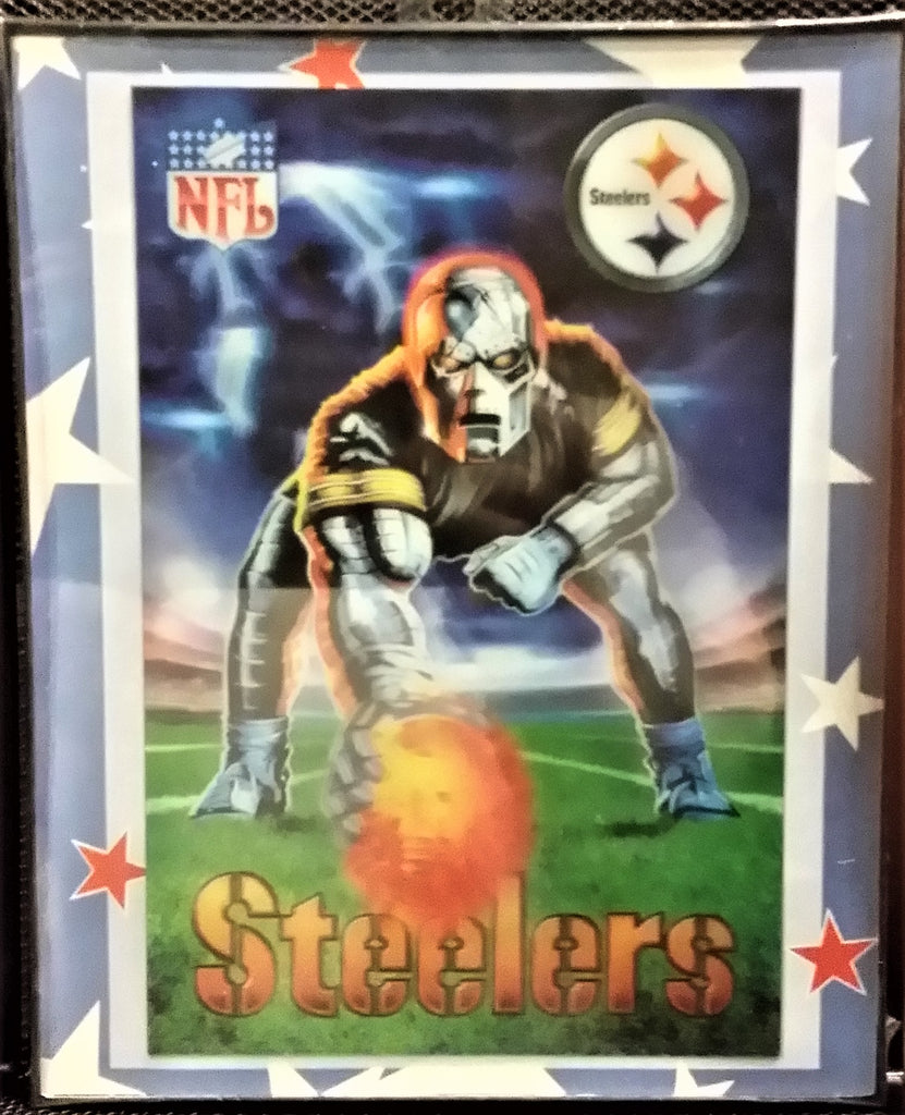28a7bcff2d70e Football - Pittsburgh Steelers - 3D Lenticular Posters 8