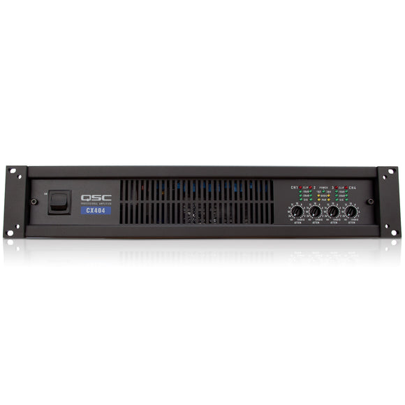 QSC CX404 4-Channel Low-Z Power Amplifier