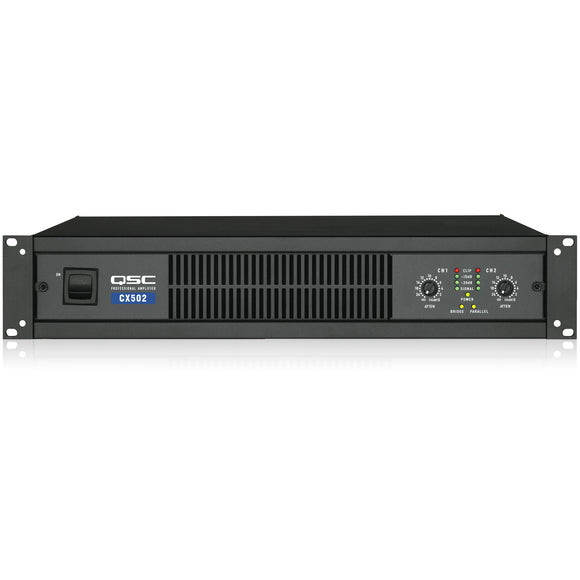 QSC CX502 2-Channel Low-Z Power Amplifier