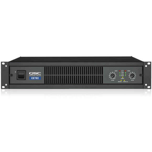 QSC CX702 2-Channel Low-Z Power Amplifier