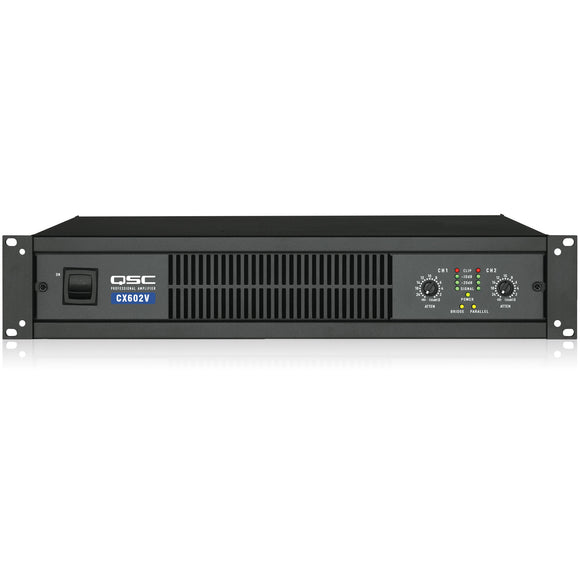 QSC CX602V 2-Channel 70V Power Amplifier