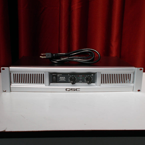 QSC GX3 500w Power Amplifier (Factory Re-Certified)