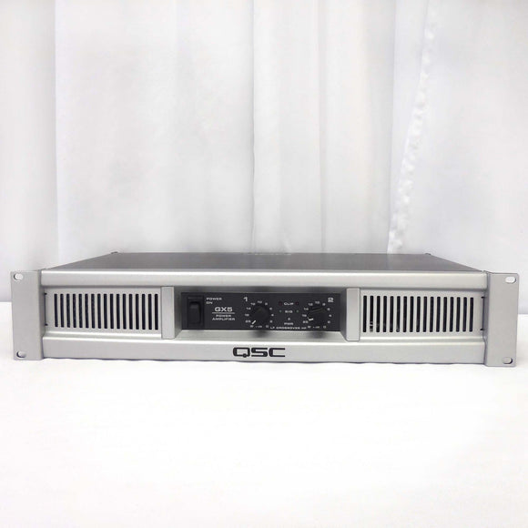 QSC GX5 850w Power Amplifier (Factory Re-Certified)