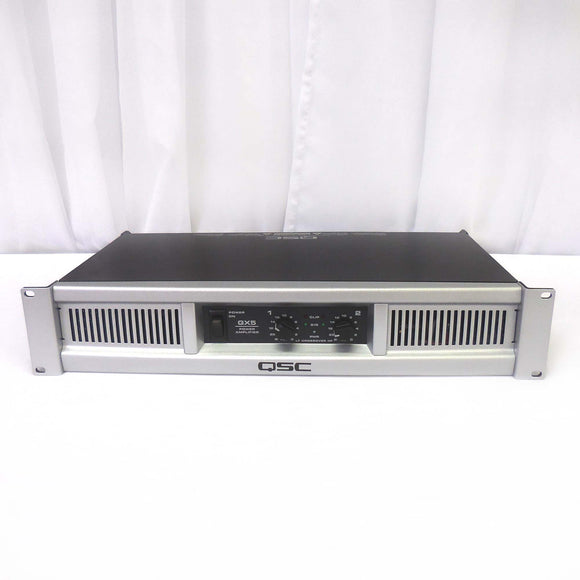 QSC GX5 850w Power Amplifier (Certified-Used)