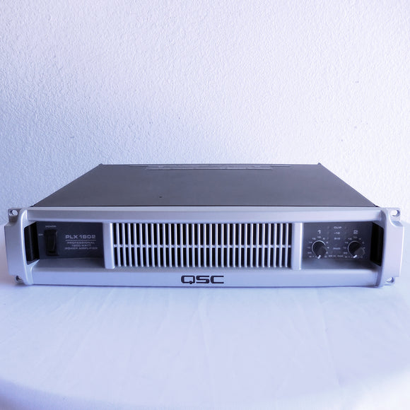 QSC PLX1802 1800w Power Amplifier (Factory Re-Certified)