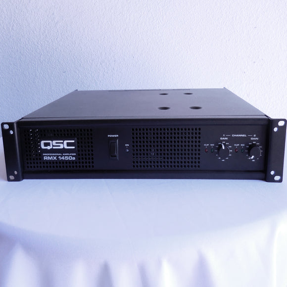 QSC RMX1450a Power Amplifier (Factory Re-Certified)