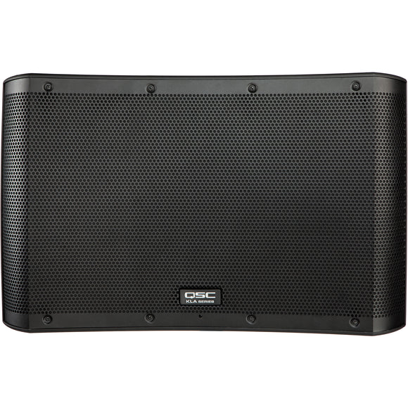 QSC KLA12 Black 500W x 500W Two-Way Active Line-Array Loudspeaker